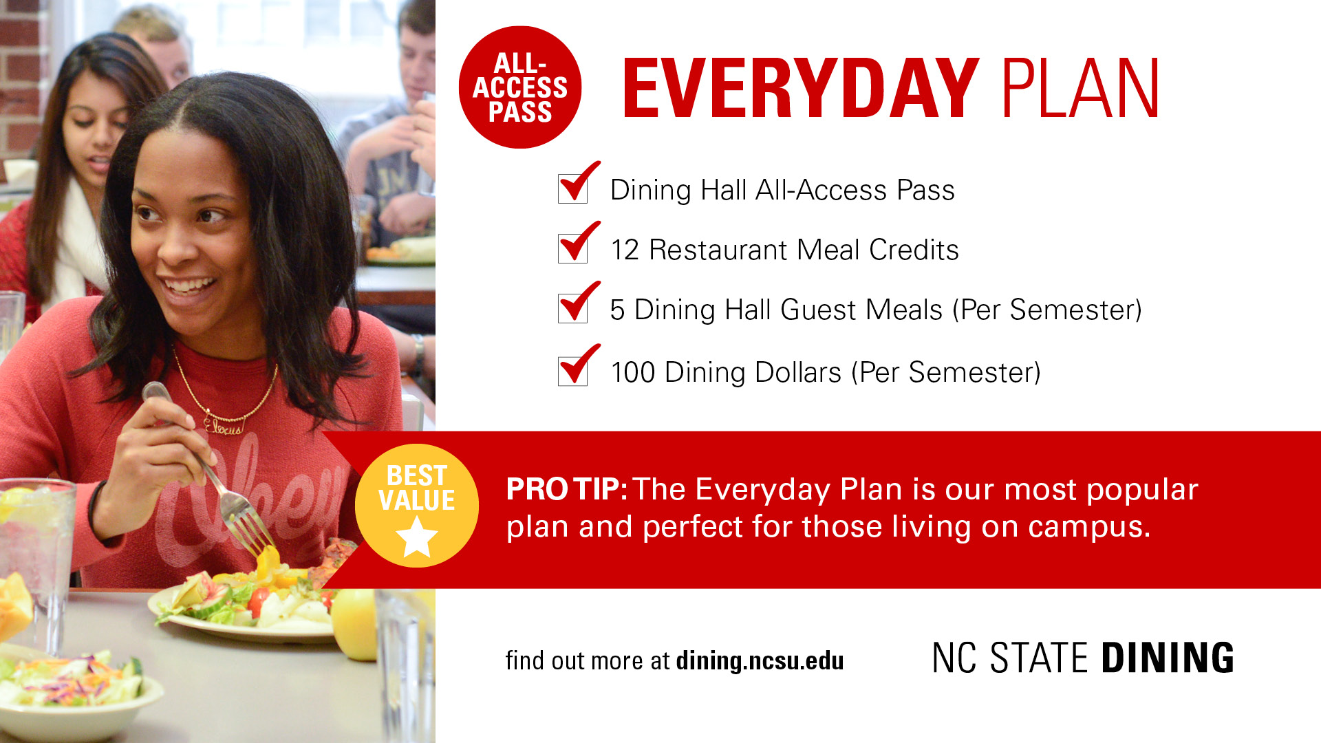 Ncsu Dining Meal Plan Meal Plan Options NC State Dining NC State